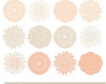 Ranuncula clipart coral flower Etsy Ranunculus Art Contest Pink