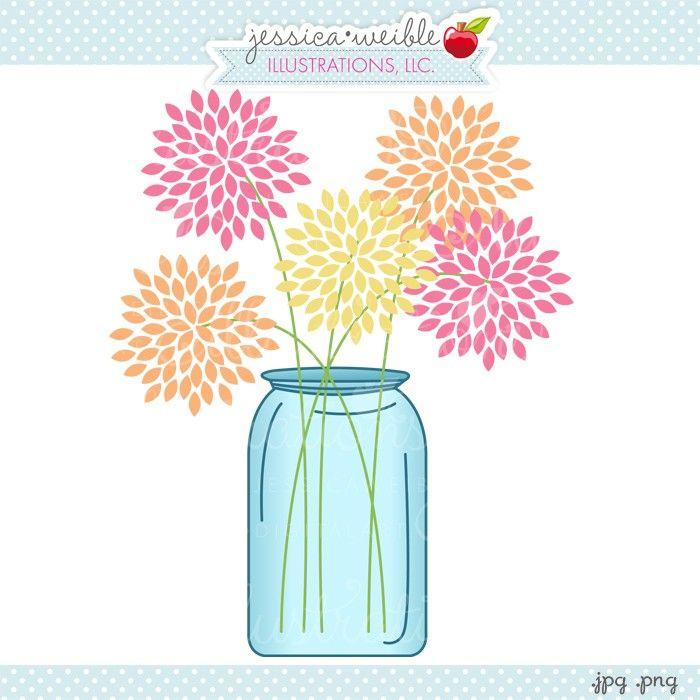Ranuncula clipart mason jar flower Jars best Find Jars on