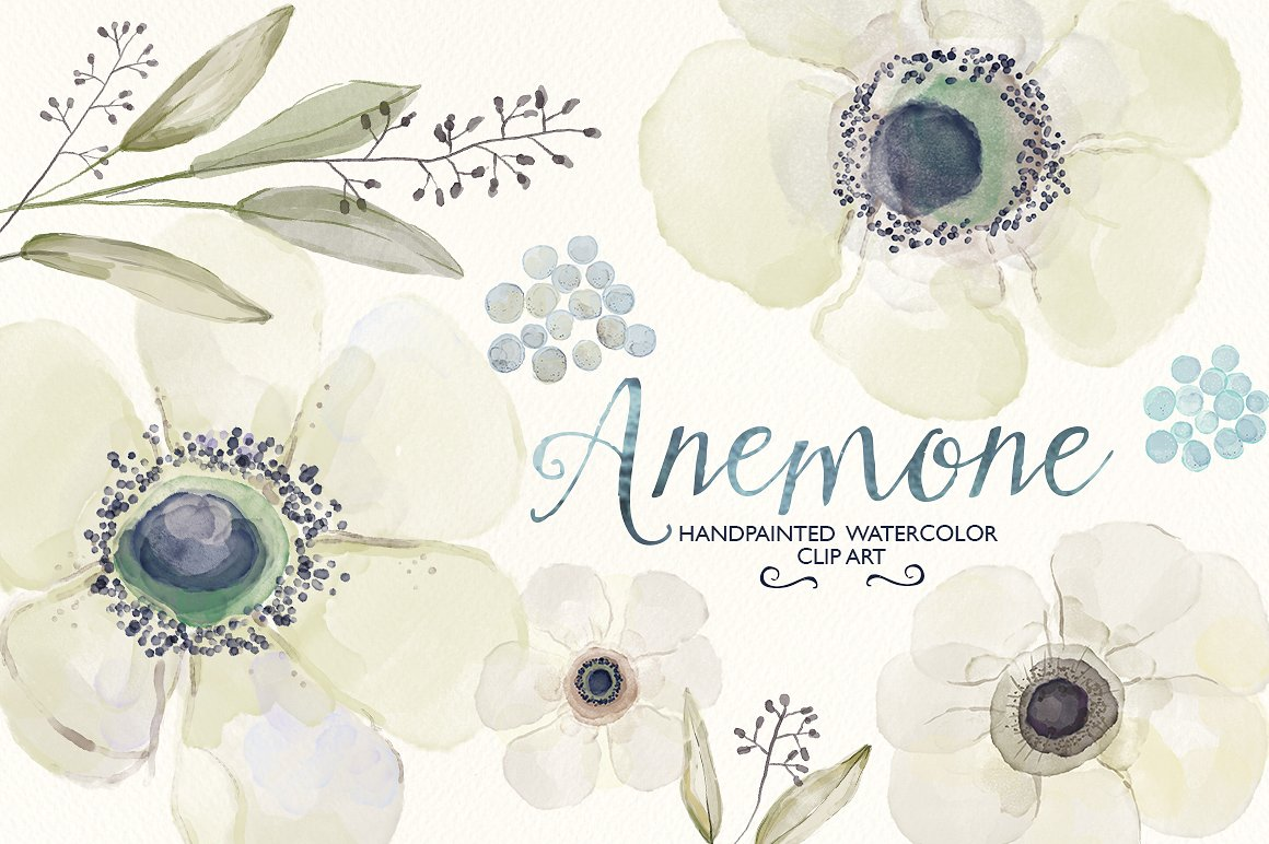 Ranuncula clipart pastel flower Watercolor ranunculus Creative clip Templates