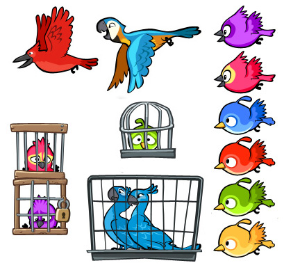 Parrot clipart angry Rio Wiki Characters Birds Angry