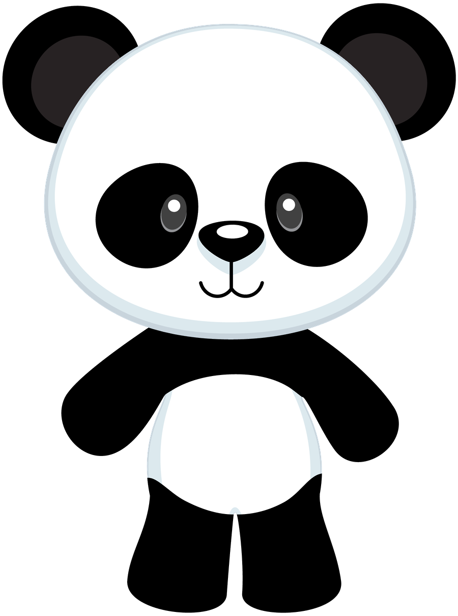 Panda clipart interesting fact  Pinterest Oneide Panda by