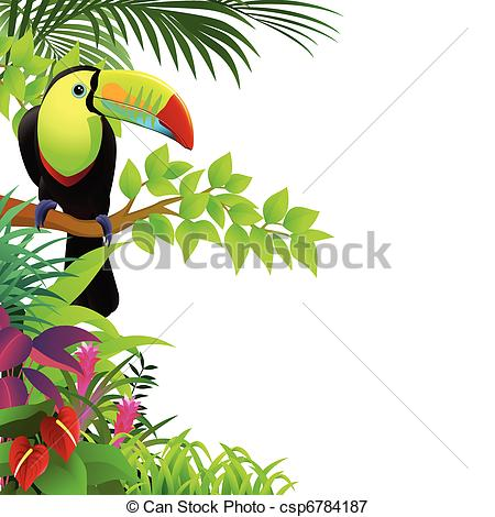 Toucan clipart tropical bird #2