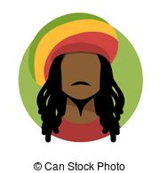 Rastas clipart animated Rasta Clipart rastafarian of illustration
