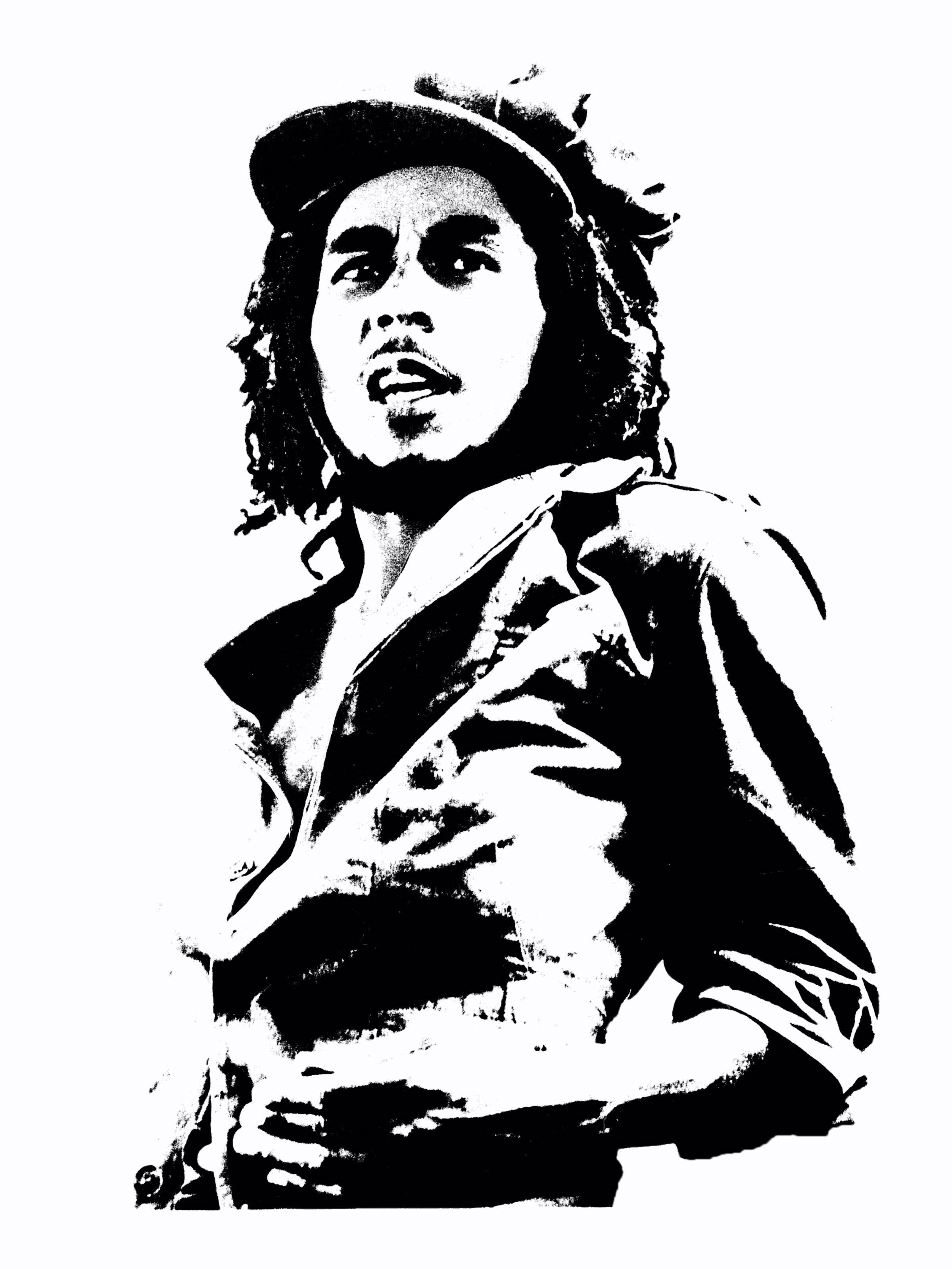 Rastas clipart bob Marley Bob cartoon clipart Bob