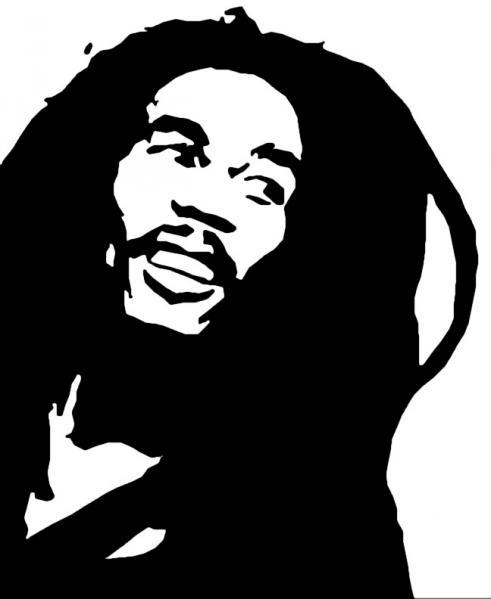 Reggae clipart bob marley Bob clipart marley bob marley