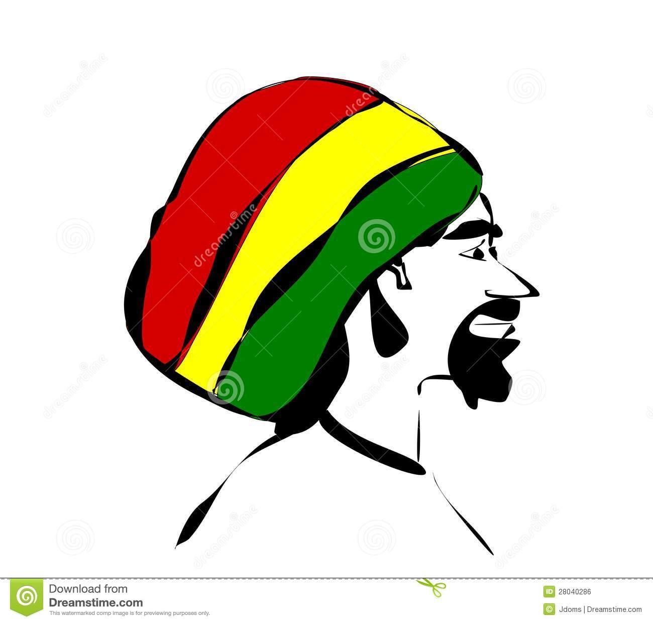 Rastas clipart rasta man Free Clipart Rastafarian Rastafarian Hat