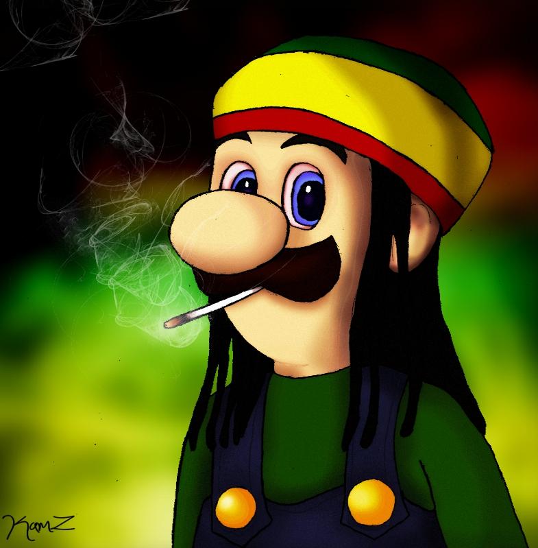 Rasta clipart deviantart By Luigi 28 Rasta 123