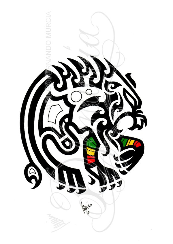 Rastas clipart deviantart Dfmurcia rastafari rasta Tribal on