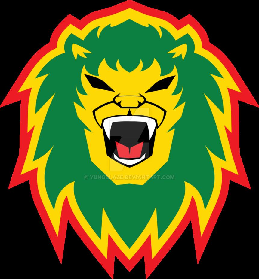 Rasta clipart deviantart Lion Rasta by YungBlaze Lion