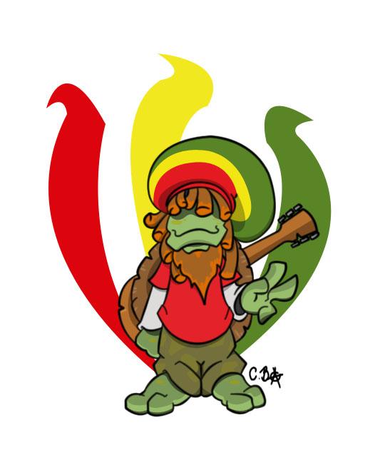 Rasta clipart deviantart By Turtle 3 Rasta 21