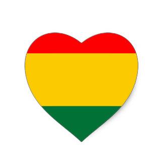 Rasta clipart heart Sticker Rasta Stripes Zazzle Heart