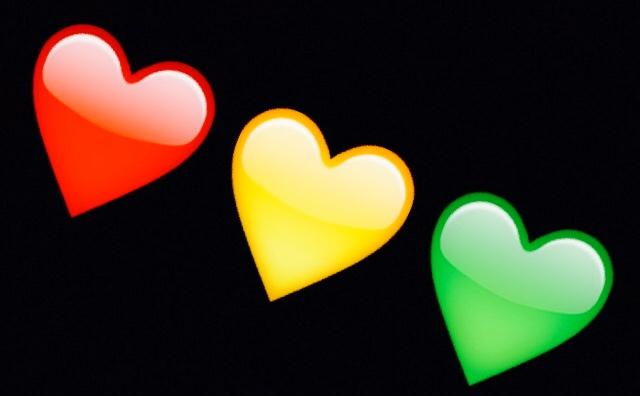 Rasta clipart heart Rasta colours Haleys Heart emoji