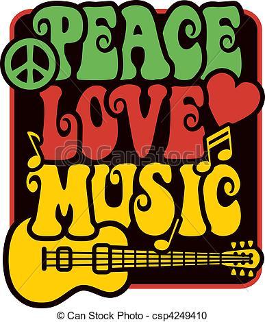Rasta clipart logo Music_Rasta  Vector Peace Colors