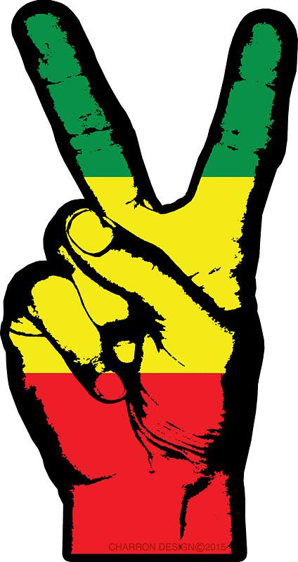Rasta clipart peace Stuph4kewlkidz RASTA FINGERS Stickers 002
