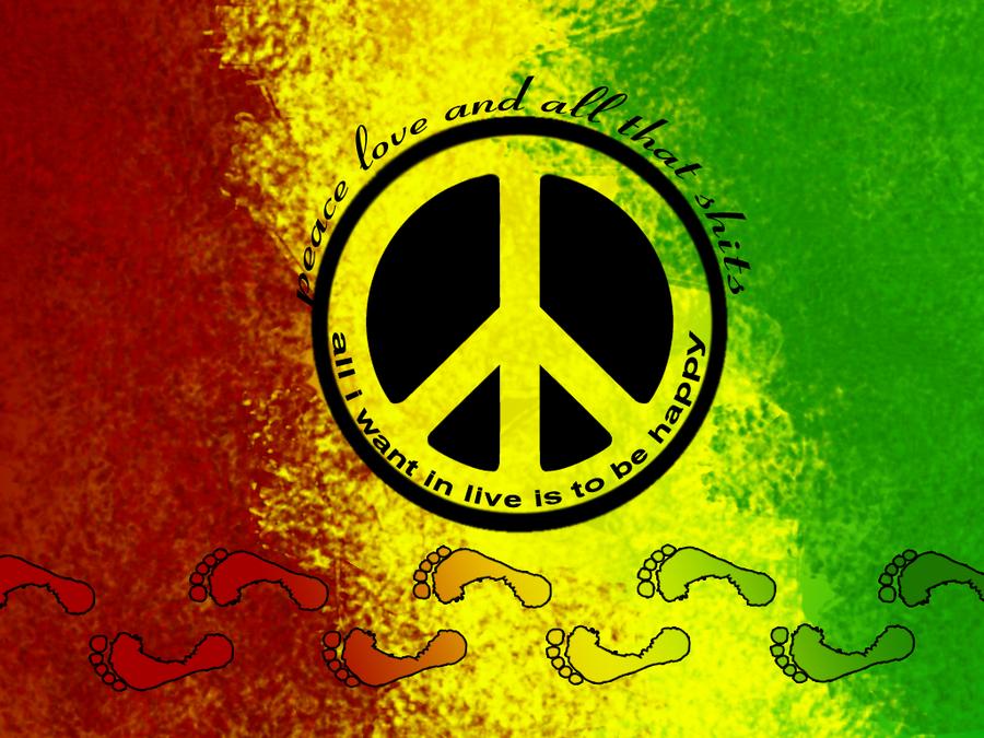 Rasta clipart peace Art Free by  Free