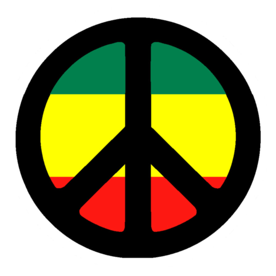 Reggae clipart peace sign Sign signs Peace by ~xX