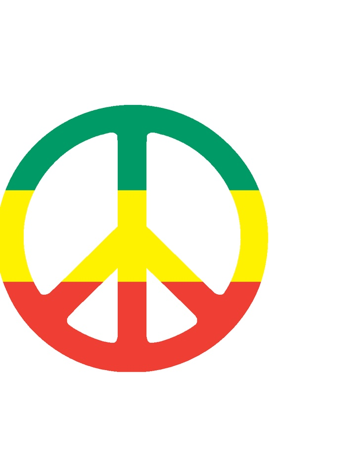 Rasta clipart peace Best by on Rasta about