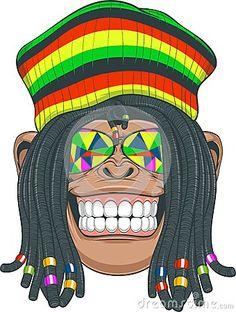 Reggae clipart brazil Peace fingers Chimpanzee youtube XJTQtwYt8