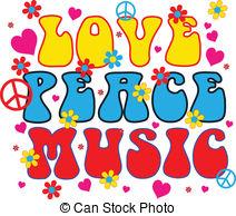 Rasta clipart peace love Vector of Peace  Music