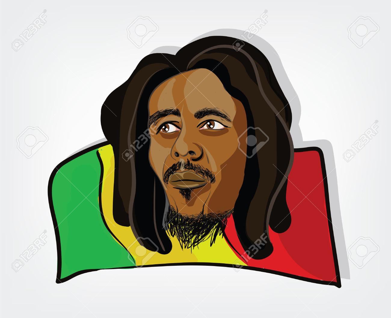 Rastas clipart rastafarian #3