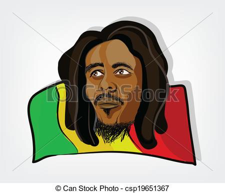 Rasta clipart rastafarian #2