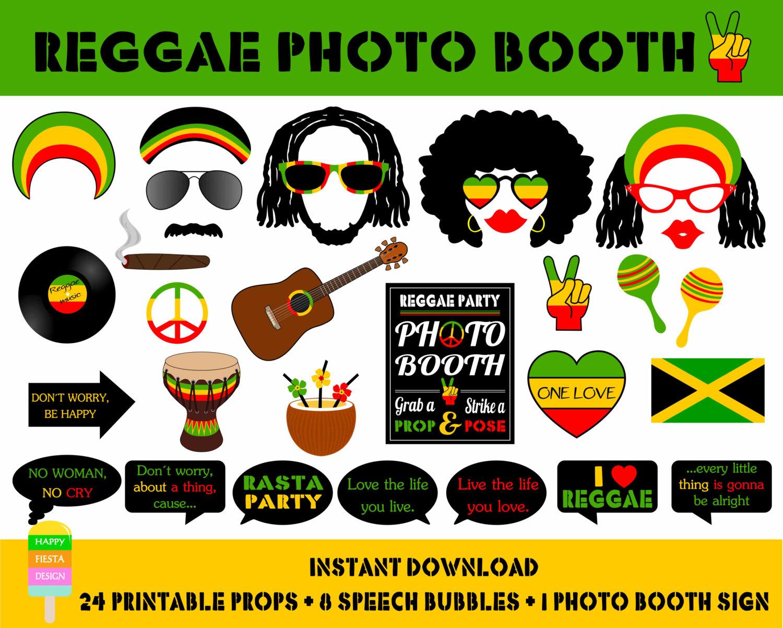 Rasta clipart reggae Booth Beach Etsy PRINTABLE Reggae