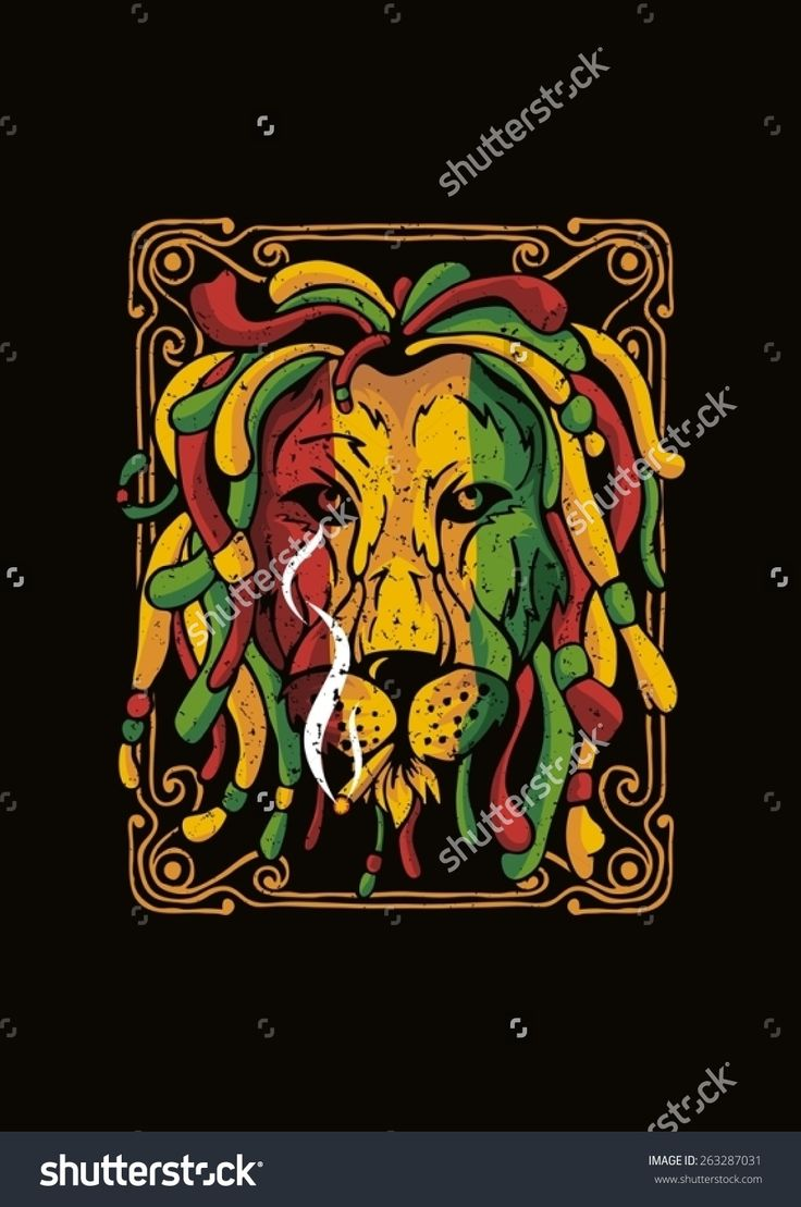Rastas clipart bob Vector about stock rastafari jamaica