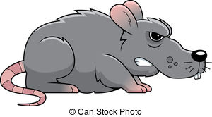 Drawn rat angry  Illustrations Rat cartoon rat