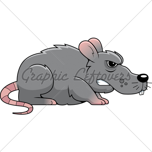 Rat clipart angry #6