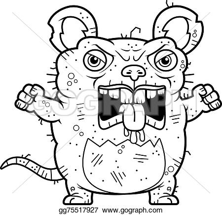 Rat clipart angry #5