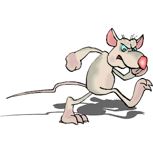 Rat clipart angry #2