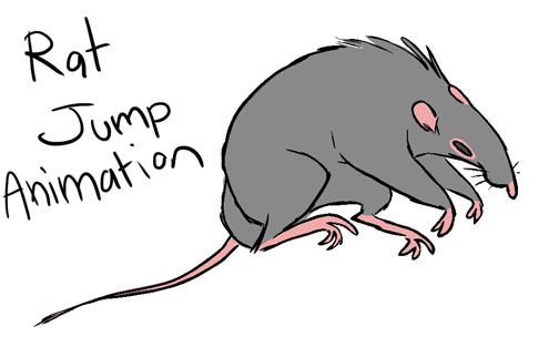 Rat clipart animated #8