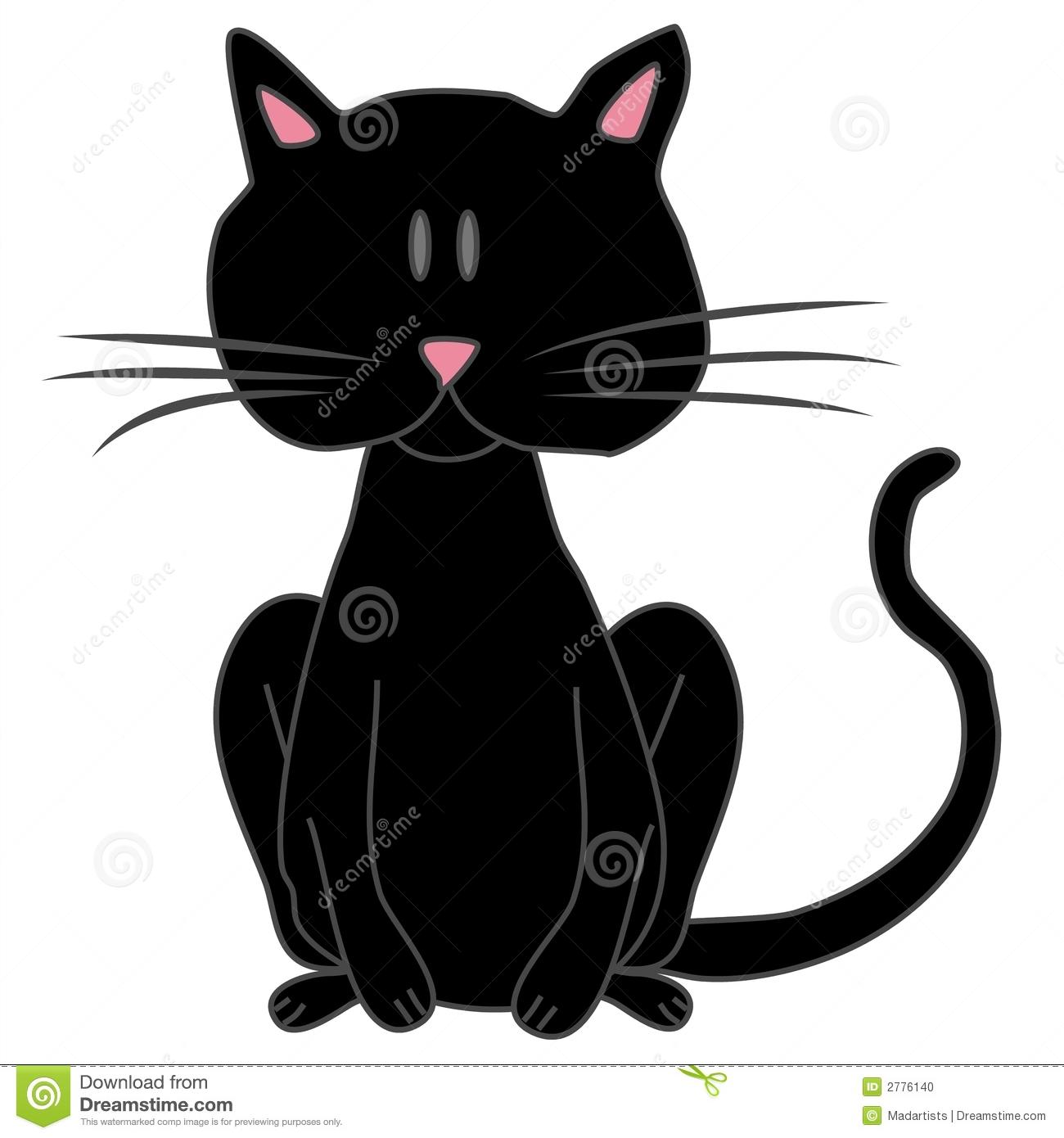 Black Cat clipart black object Free Images Panda Art Clipart