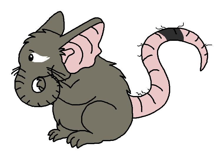 Rat clipart elephant #11