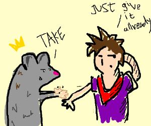 Rat clipart flea #7