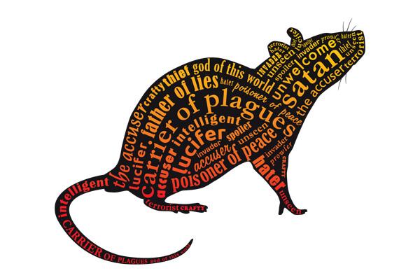 Rat clipart flea #1