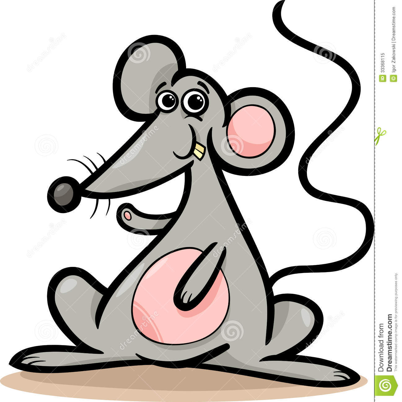Rat clipart for kid #3