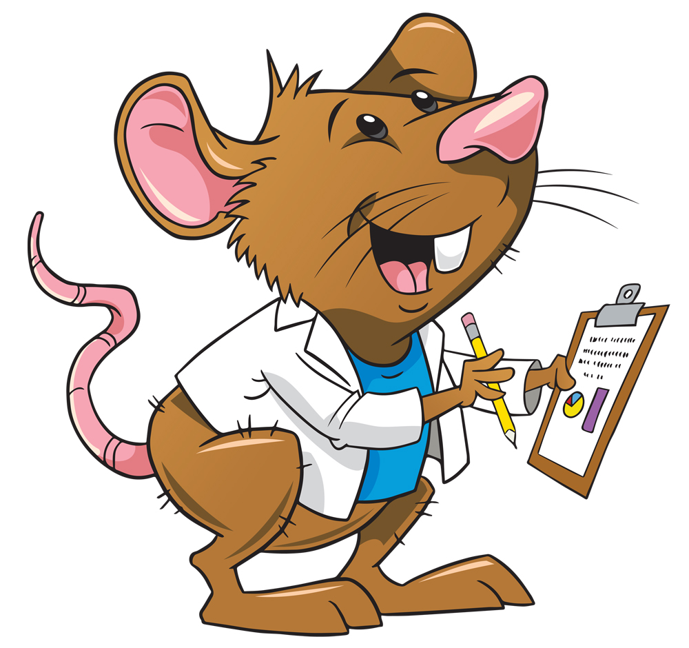 Rat clipart for kid #8