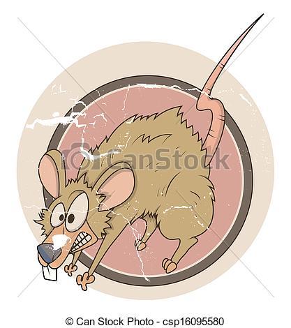 Rat clipart funny #9