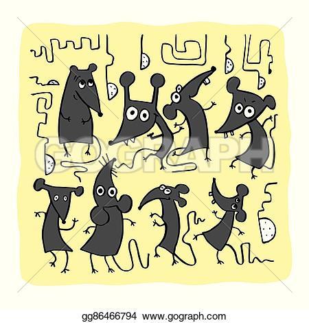 Rat clipart funny #11