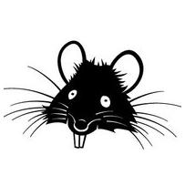 Rat clipart funny #5
