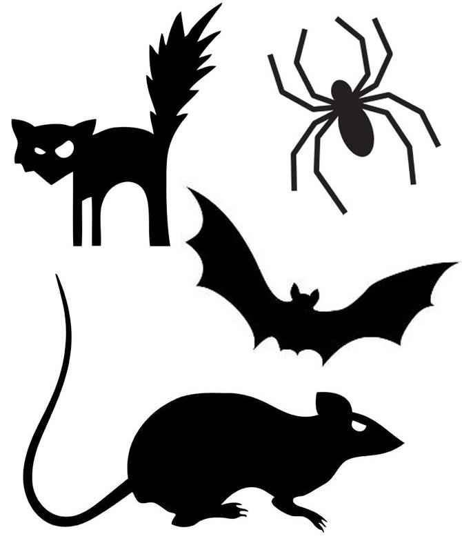 Rat clipart halloween #6