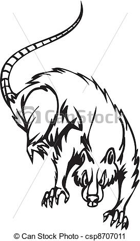 Rat clipart halloween #14
