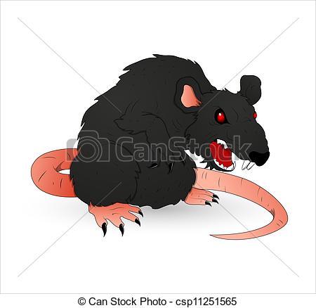 Rat clipart halloween #4
