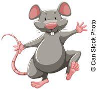 Rat clipart happy #3