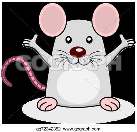 Rat clipart happy #7