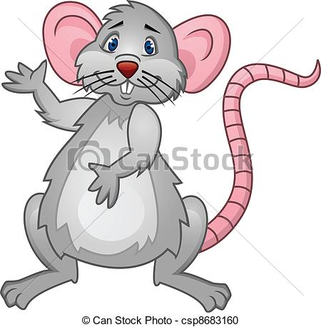 Drawn rat angry Rat Cartoon Clipart Rat csp8683160