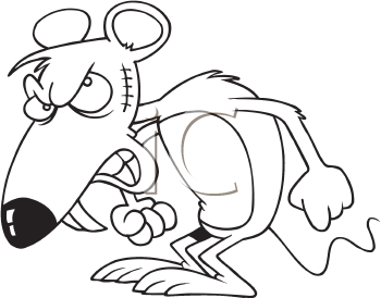 Rat clipart mad #8