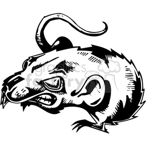 Rat clipart mad #4