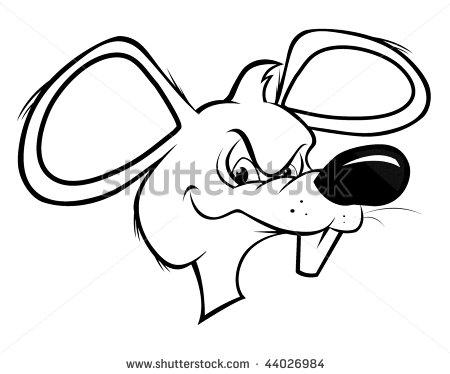 Drawn rat cartoon Cute Clipart rat collection a
